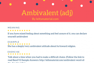 ieltsmaterial.com - word of the day for ielts