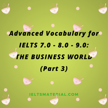 Advanced Vocabulary for IELTS 7.0 8.0 9.0 THE WORLD OF POLITICS Practice Exercises and Answer Key Part 1 5