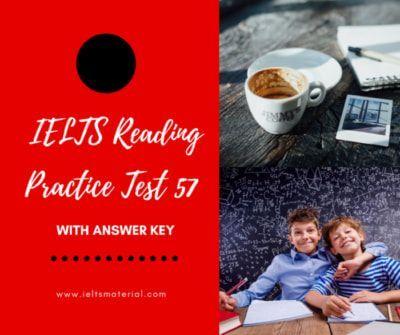 IELTS Reading Practice Test 57
