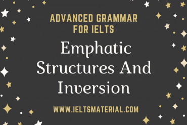 Emphatic Structures And Inversion