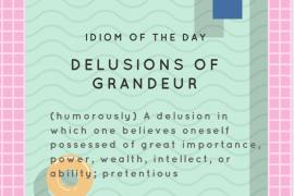IOTD delusions of grandeur