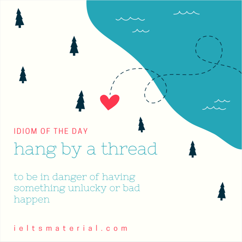IOTD hang by a thread