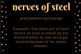 IOTD nerves of steel