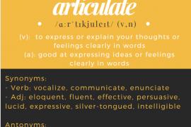 WOTD Articulate