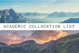 ieltsmaterial.com - academic collocation list