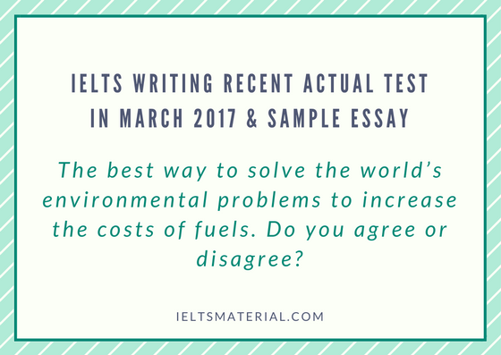 how to solve environmental problems essay