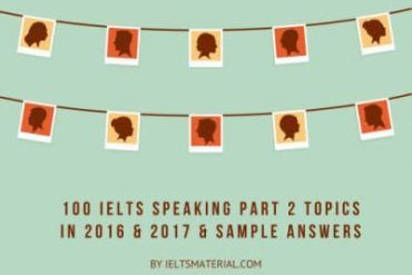 IELTS Speaking Part 2 Topics