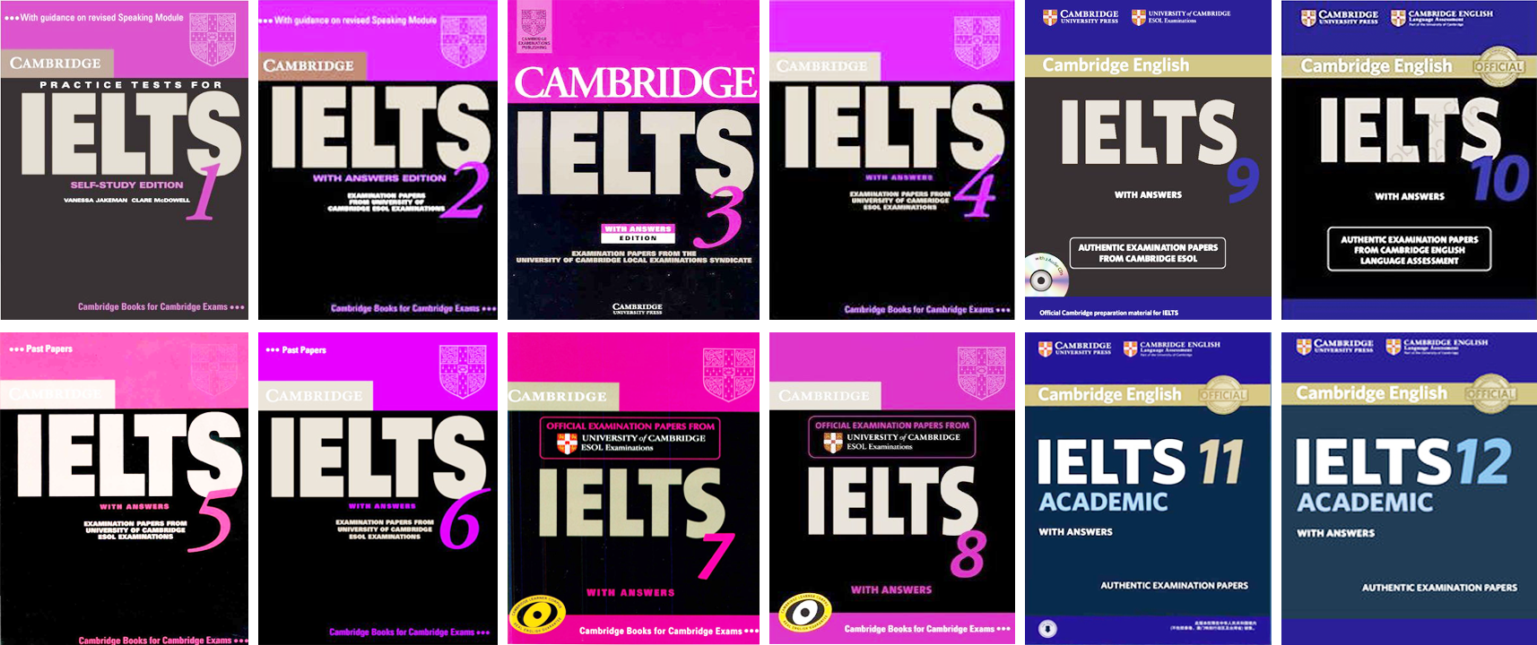 Cambridge ielts 1-12