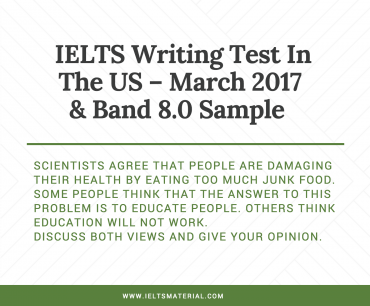 education ielts writing test in the us 2017 band 8 0 sample essay