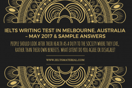 ieltsmaterial.com - ielts writing test in australia & sample answers