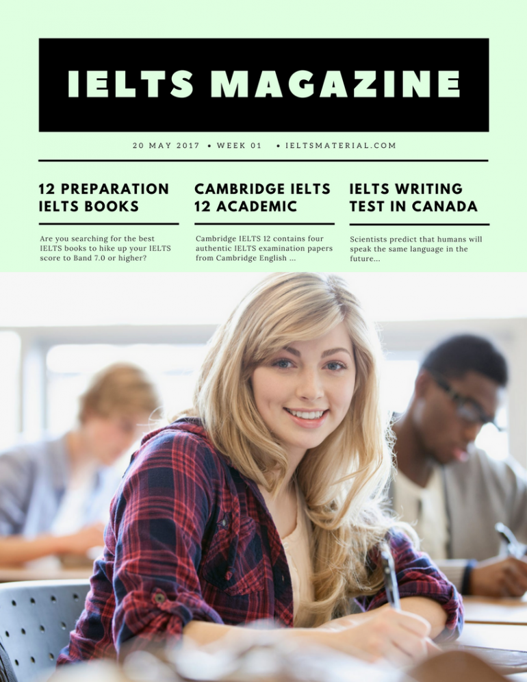 ielts magazine by ieltsmaterial.com