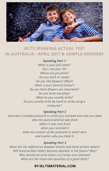 ieltsmaterial.com - ielts speaking actual test in 2017