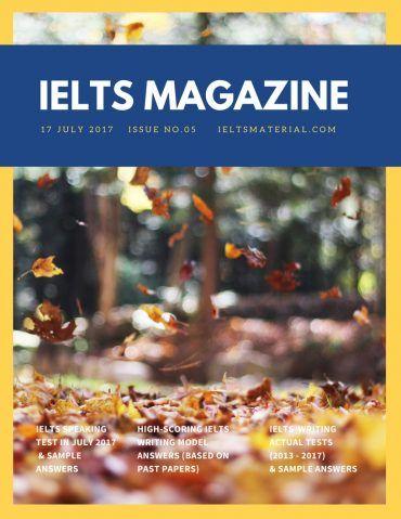 ielts magazine content