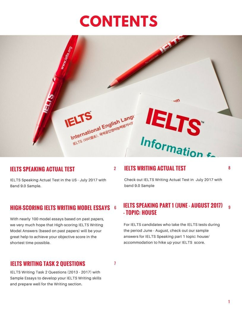 kinds of essay in ielts