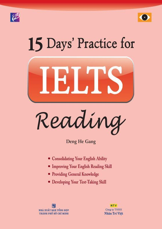 15days' practice for ielts reading
