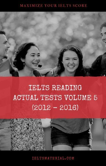 IELTS READING ACTUAL TESTS
