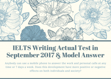 ielts writing recent test