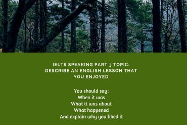 IELTS Speaking Part 2 Topic_ English Lesson & Band 9 Sample