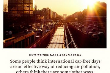 ielts writing task 2 with sample essays