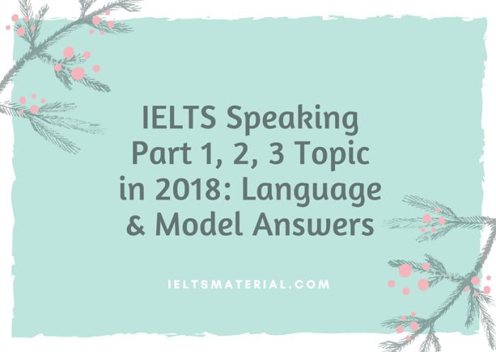ielts speaking part 1 2 3