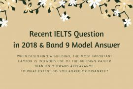 ielts writing test in 2018 and model essays
