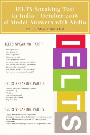 IELTSmaterial.com - ielts speaking test in Oct
