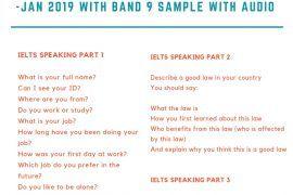 ielts speaking exam in canada jan 2019