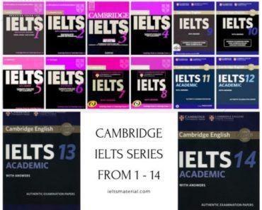 cambridge ielts series 1 - 14