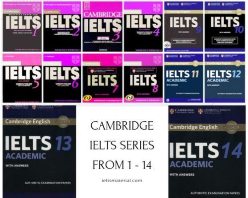 cambridge ielts series 1 - 14
