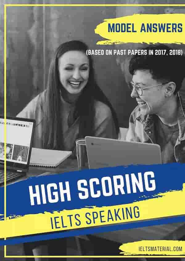High Scoring IELTS SPEAKING