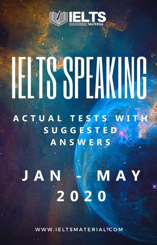 IELTS Speaking Jan- May 2020