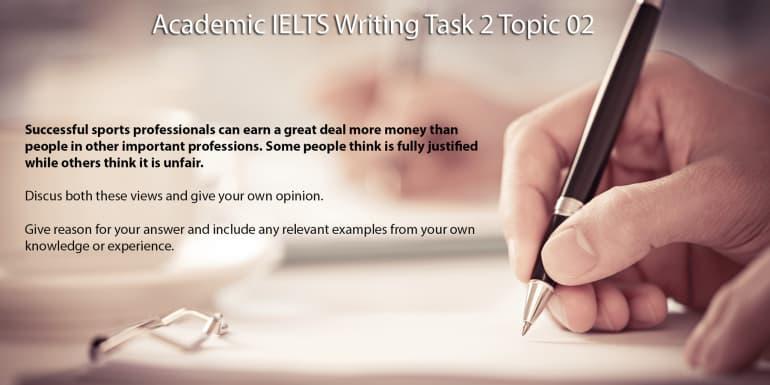 Academic IELTS Writing Task 2 Topic 02