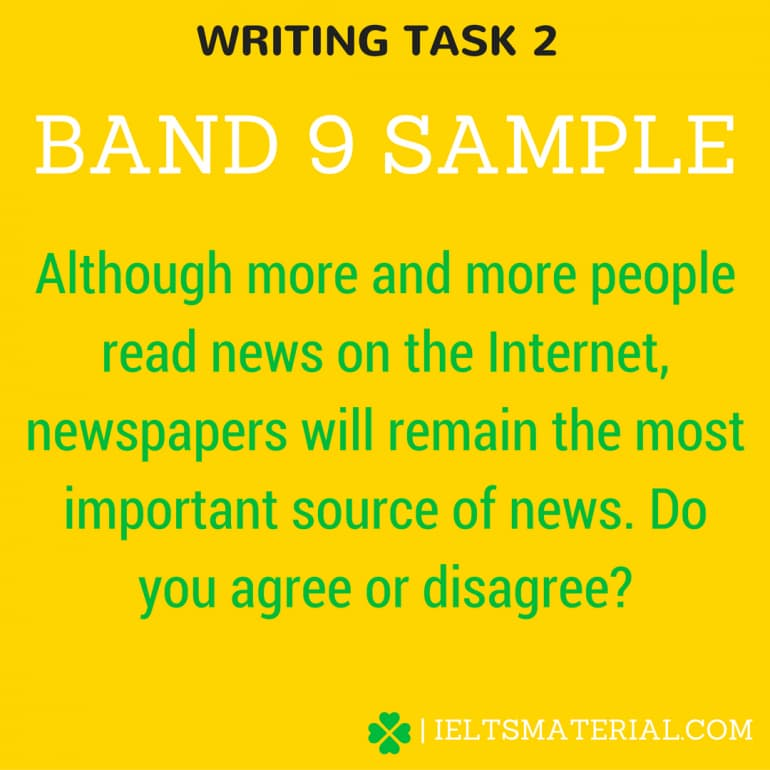 Academic IELTS Writing Task 2 Topic ( In January, 2016) & Band 9 Model Essay.