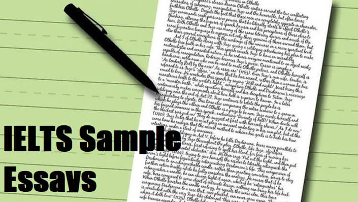 ielts sample essays