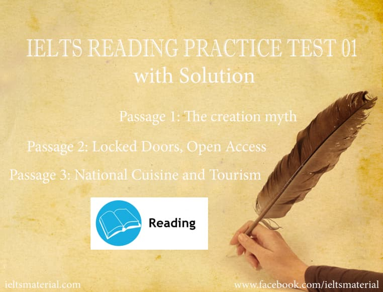 IELTS Reading Practice Test 01 with Solution