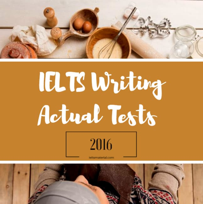 IELTS Writing Actual Test in February, 2016 & Band 8.5 Discursive Essays