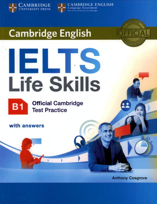 IELTS Life Skills Official Cambridge Test Practice B1 with Answers (Ebook)