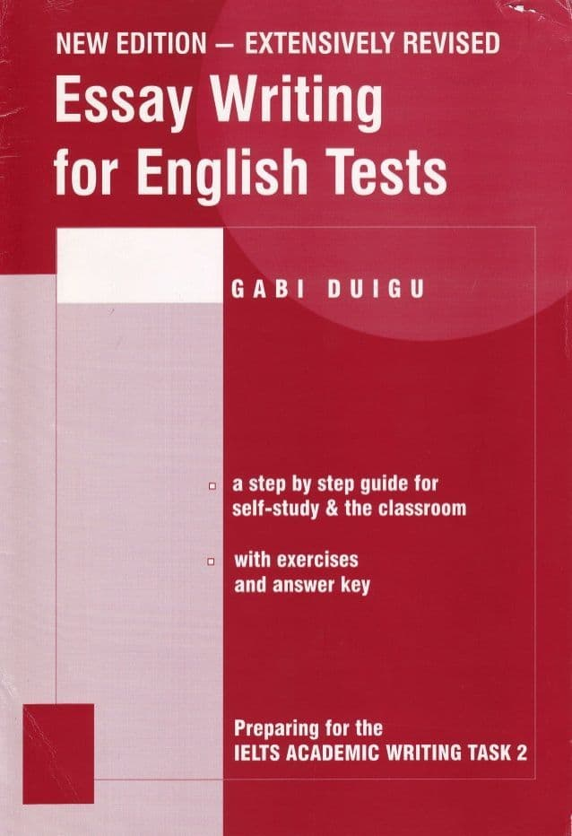 Essay Writing By Gabi Duigu (Ebook) English tests - Writing task 2