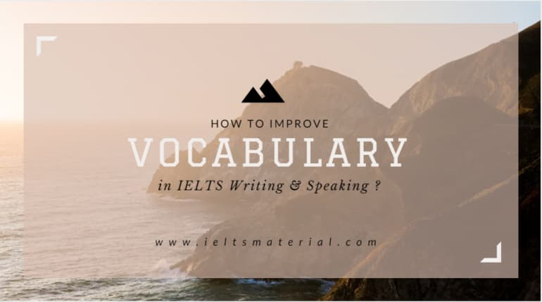 How to Boost or improve Your Vocabulary Score in IELTS ?