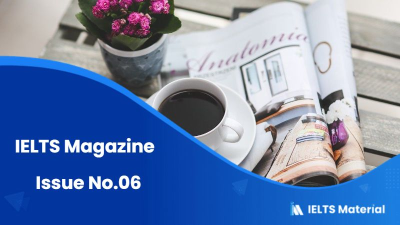 IELTS Magazine – Issue No.06