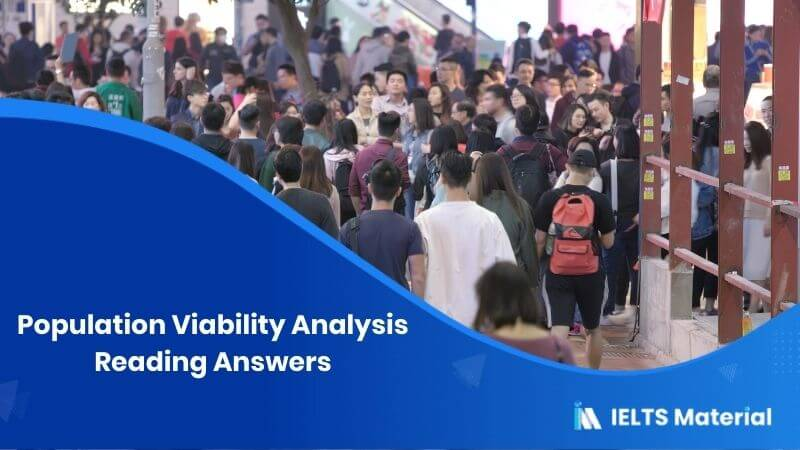 Population Viability Analysis Reading Answers