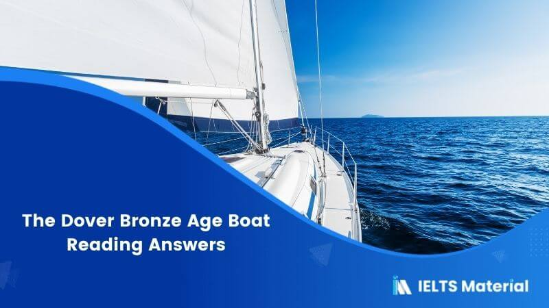 The Dover Bronze Age Boat Reading Answers