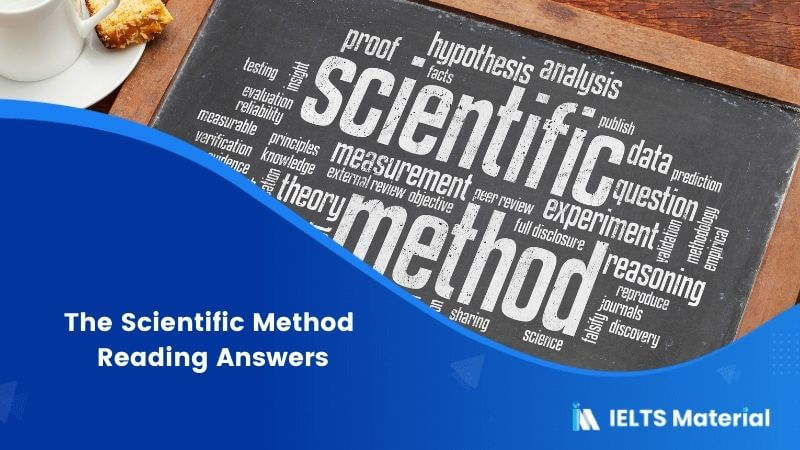 The Scientific Method Reading Answers