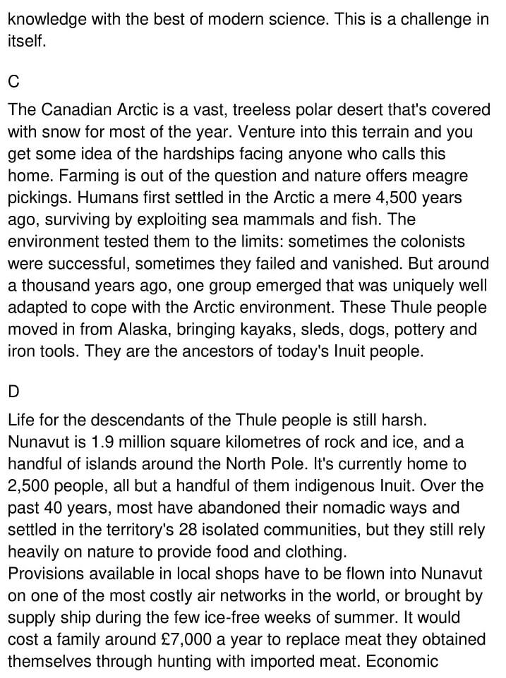 Climate Change and the Inuit 2