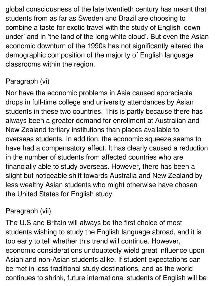 Destinations for International English Students 3
