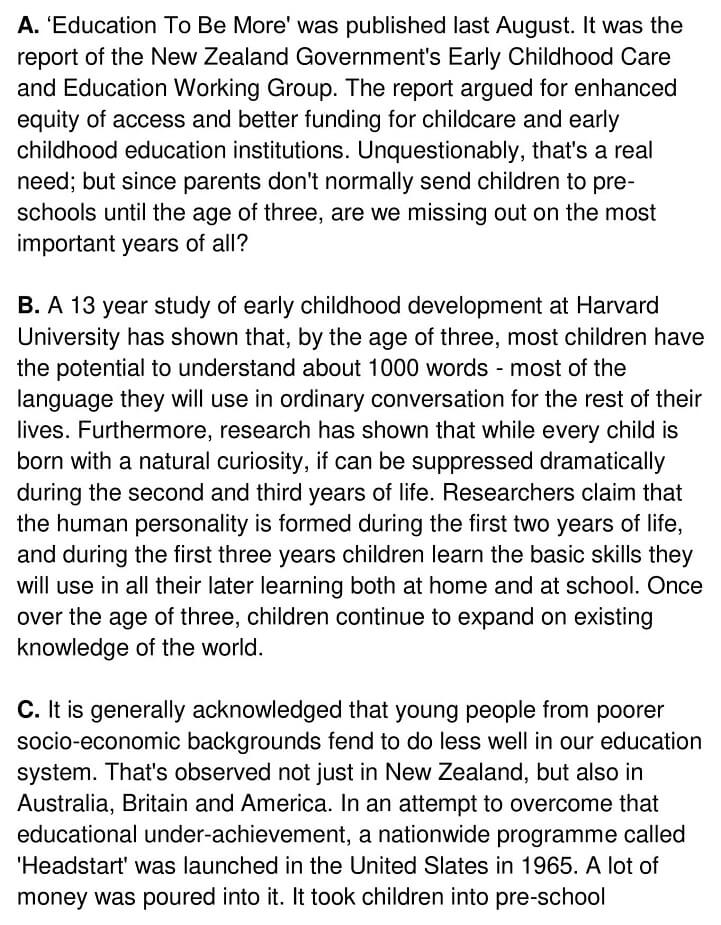 Early Childhood Education - 0001