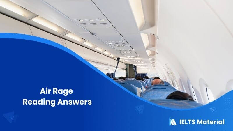 Air Rage Reading Answers