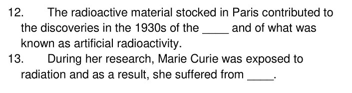 The Life and Work of Marie Curie 6