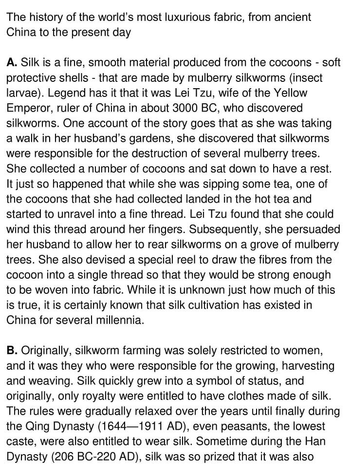 The Story Of Silk - 0001