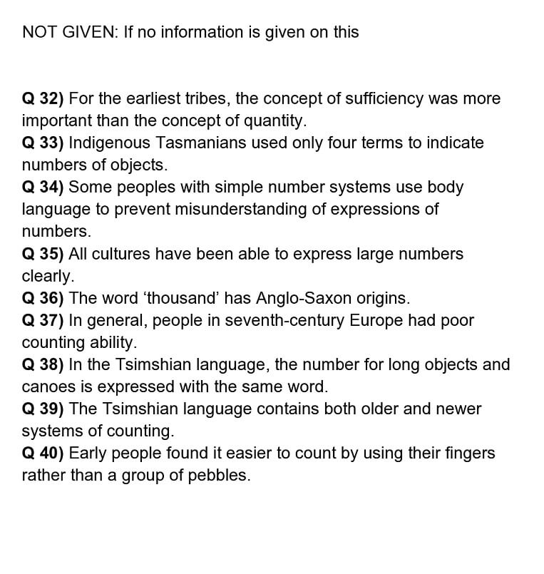 numeric reading answers 5